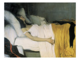 The Morphine Premium Giclee Print by Santiago Rusinol