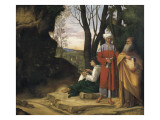 The Three Philosophers (Tre Filosofi) Giclee Print by Giorgione