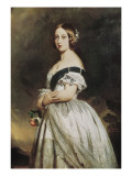Queen Victoria Giclee Print by Franz Xavier Winterhalter