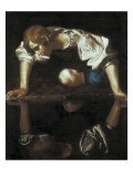 Narcissus Art by  Caravaggio