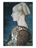 Portrait of a Young Woman Giclee Print by Antonio Pollaiolo
