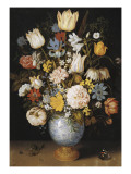 Bouquet of Flowers (Blumenstrauss) Giclee Print by Ambrosius The Elder Bosschaert