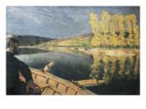 The Oarsman (Le Passeur) Print by Edouard Vuillard