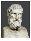 Bust of Epicurus Prints