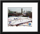 Wrigley Field 2008-09 NHL Winter Classic Framed Photographic Print