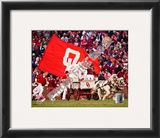 Sooner Schooner Mascot of the Oklahoma Sooners 2007 Framed Photographic Print