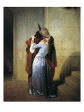 The Kiss Giclee Print by Francesco Hayez