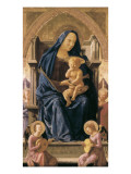The Virgin and Child Poster by  Masaccio