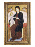 Virgin and Child Gicle-tryk af Duccio di Buoninsegna