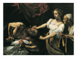Judith and Holofernes Plakater af  Caravaggio
