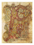 Book of Kells Reproduction procédé giclée