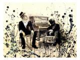 Tom Waits Kunstdrucke von Lora Zombie