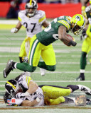 Greg Jennings Action from Super Bowl XLV Photo