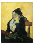 L'Arlesienne (Madame Ginoux) Gicle-tryk af Vincent van Gogh