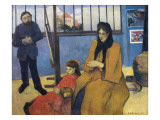 The Schuffenecker Family, or Schuffenecker's Studio Prints by Paul Gauguin