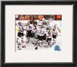 The Chicago Blackhawks 2010 Stanley Cup Finals Framed Photographic Print