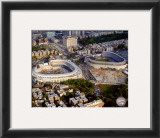 Yankee Stadium - 2008 New & Old Stadium Framed Photographic Print