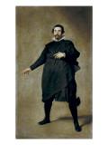 Portrait of the Buffoon Pablo De Valladolid Schilderijen van Diego Velázquez