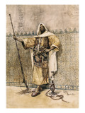 Portrait of an Arab Giclee Print by Rafael Senet