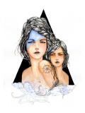 Aqua Posters by Charmaine Olivia