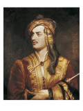 George Gordon Byron Print by Thomas Phillips