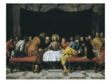 The Last Supper Giclee Print by Frans Pourbus II