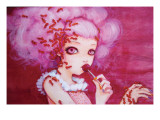 Cotton Candy Curly Cue Giclee Print by Camilla D'Errico