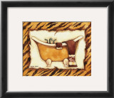 Tiger Bath Prints by Diane Knott