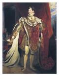 George IV, King of England Art par George Peter Alexander Healy