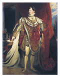 George IV, King of England Giclee Print by George Peter Alexander Healy