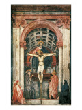 Trinity Prints by  Masaccio