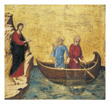 The Calling of the Apostles Peter and Andrew Reproduction procédé giclée par Duccio di Buoninsegna