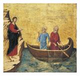 The Calling of the Apostles Peter and Andrew Reprodukcje autor Duccio di Buoninsegna