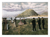 Basque Celebration at the Bay of San Sebastián Giclee Print by Diario Or Dario De Regoyos Y Valdes