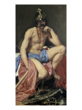 Mars, God of War Giclee Print by Diego Velázquez