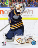 Ryan Miller 2010-11 Action Photo