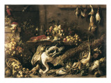 A Pantry Giclee Print by Adriaen van Utrecht