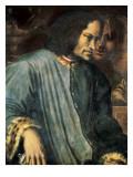 Portrait of Lorenzo De Medici, 'The Magnificent' (Ritratto Di Lorenzo Il Magnifico) Kunstdruck von Giorgio Vasari