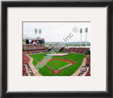 Great American Ball Park 2010 Opening Day Framed Photographic Print