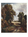 The Cornfield Posters av John Constable