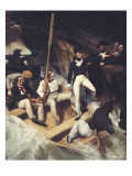 Nelson Boarding a Captured Ship, 20 November 1777 Giclee Print by Richard Westall
