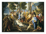 Parnassus Poster by Nicolas Poussin