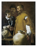 The Waterseller of Seville Poster von Diego Velázquez