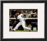 Hideki Matsui Game 2 of the 2009 World Series Framed Photographic Print