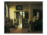 La chambre de Van Gogh à Arles Reproduction procédé giclée par Pieter Cornelisz Hoock