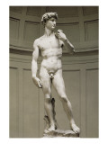 David Poster by  Michelangelo