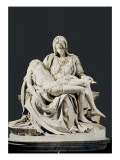 Pieta Prints by  Michelangelo