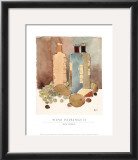 Wine Pairings II Print by Sam Dixon