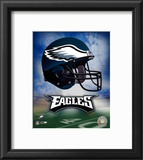 Philadelphia Eagles Helmet Logo Framed Photographic Print