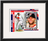 Dustin Pedroia 2010 Framed Photographic Print